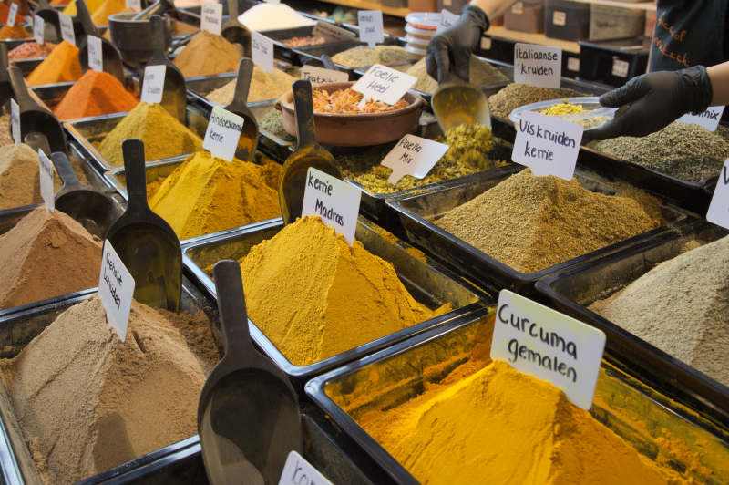 Spices like at an Arab market