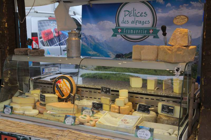 Swiss mountain cheese