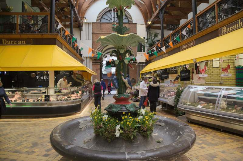 The English market in Cork is beautiful
