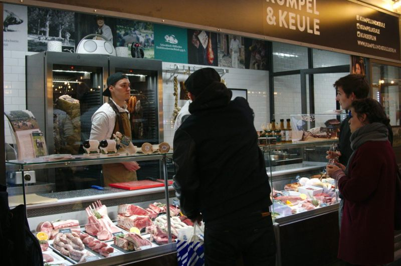 """Kumpel & Keule"" the butcher shop of the food activist Hendrik Haase"