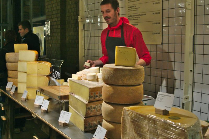 """The cheese guy from """"Alte Milch"""" (old milk)"""