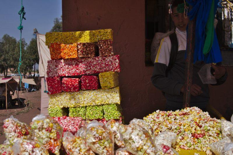 Popcorn at Azilal souk