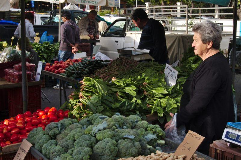 Market in Rethimno