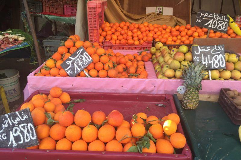 Tunis market scene