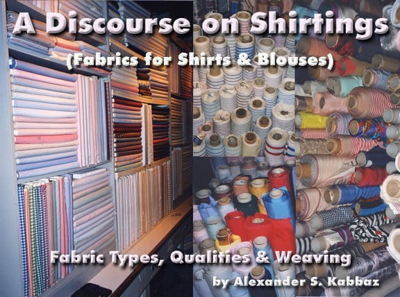 Fabric Types, Qualities, and Weaving.