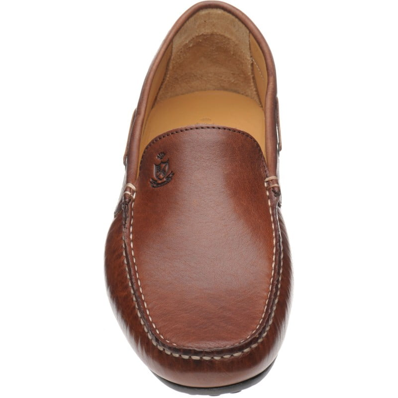Murlo rubber-soled driving moccasins  £79.17 / $103 approx  Colour: Brown Grain