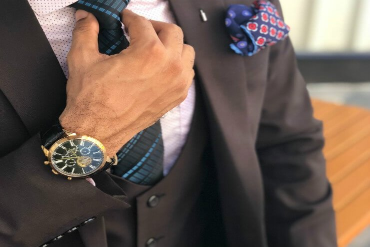 Pairing a watch with your outfit