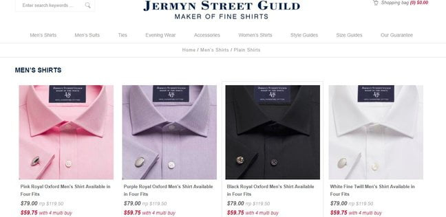 Jermyn Street Guild Website