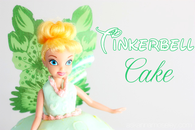 Disneyland Pictures And Malea S Tinkerbell Cake Ask Anna