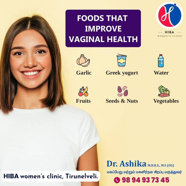Read more about the article Foods that Improve Vaginal Health