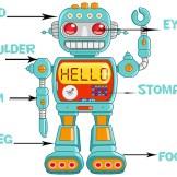 human body--robot