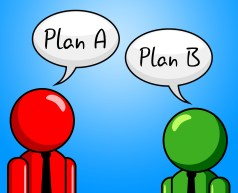 Image result for plan B in mind cartoon