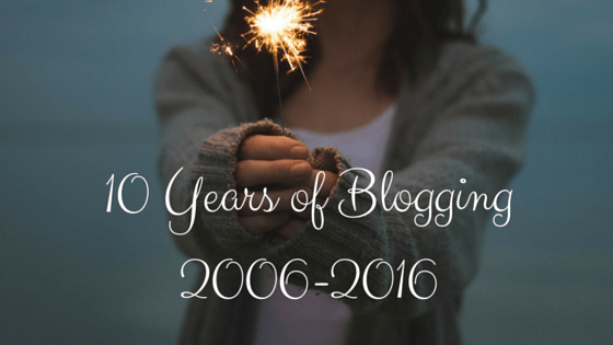 Reading, Knitting, and Blogiversaries