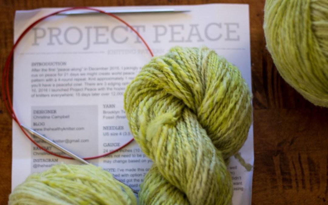 November Knitting