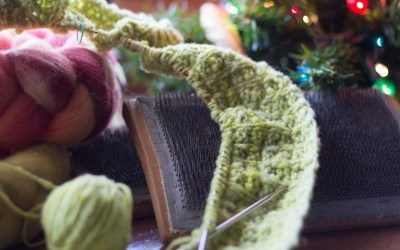 Reading and Knitting for Peace