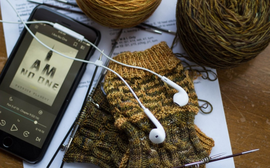 On my needles and in my ears
