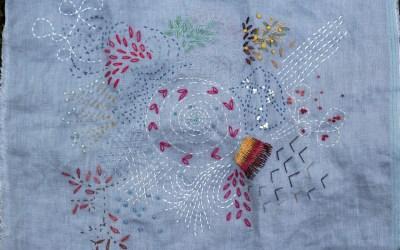 October Stitching