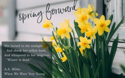Spring Forward Weekend!