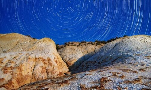 Sickle Cell Crises - quiet bluye skies above a group of rocks