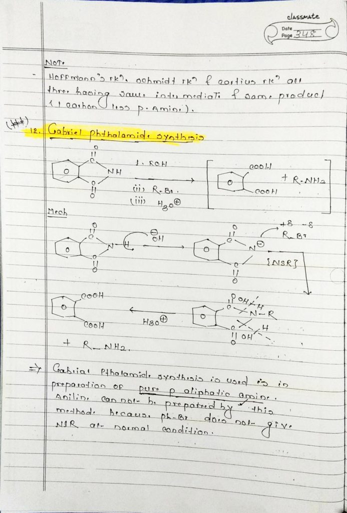 organic chemistry special reaction part 2 simple notes for