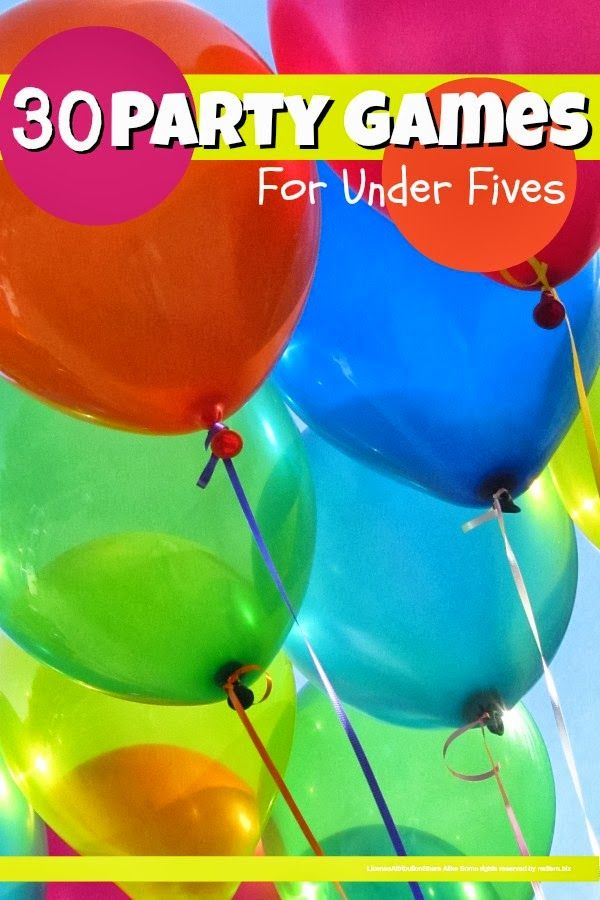 birthday party party games