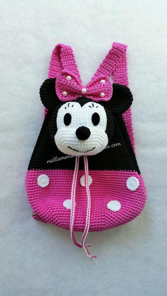 Birthday Gifts Inspiration En Nylon Souple Minnie Mouse Crochet Cadeau Sac Dos Que Nimporte