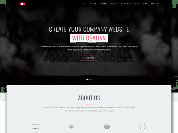 Osahan Business Bootstrap Responsive Website Template
