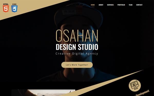 Osahan Design Studio - Responsive Template