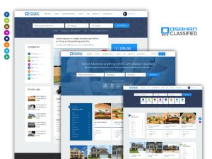 Osahan classified Bootstrap Responsive Website Template