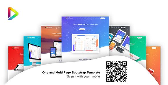Soft Themez - Software Landing Page Template