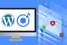 Ionic 4 WordPress