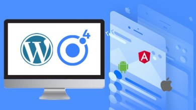 Ionic 4 WordPress