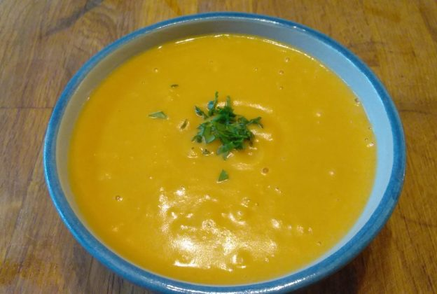 Chestnut and Butternut Squash Soup