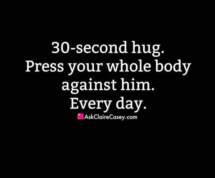 30 second hug