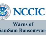 SamSam Ransomware Warning