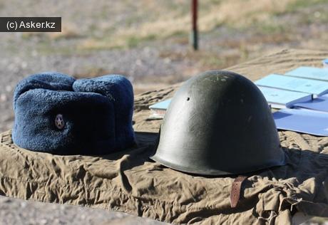 каска армия казахстана