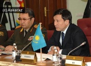 Министра обороны Республики Казахстан Адильбек Джаксыбеков