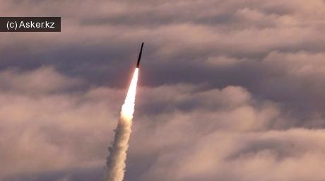 испытательный пуск противоракеты