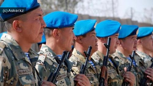 солдаты казахстана