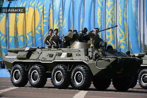 армия казахстана военнослужащие
