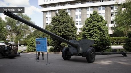 100-мм противотанковая пушка МТ-12 Рапира