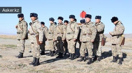военнослужащие казахстанской армии