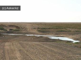 полигон Тайсоган,  Атырауская область Казахстана