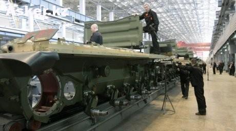 Сборка танков
