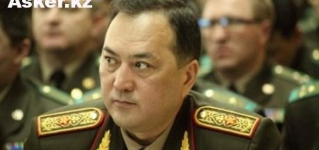 Генерал-майор Талгат Есетов