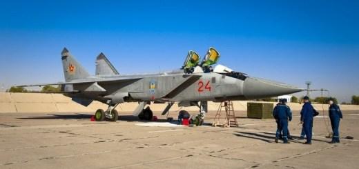 самолет МИГ-31