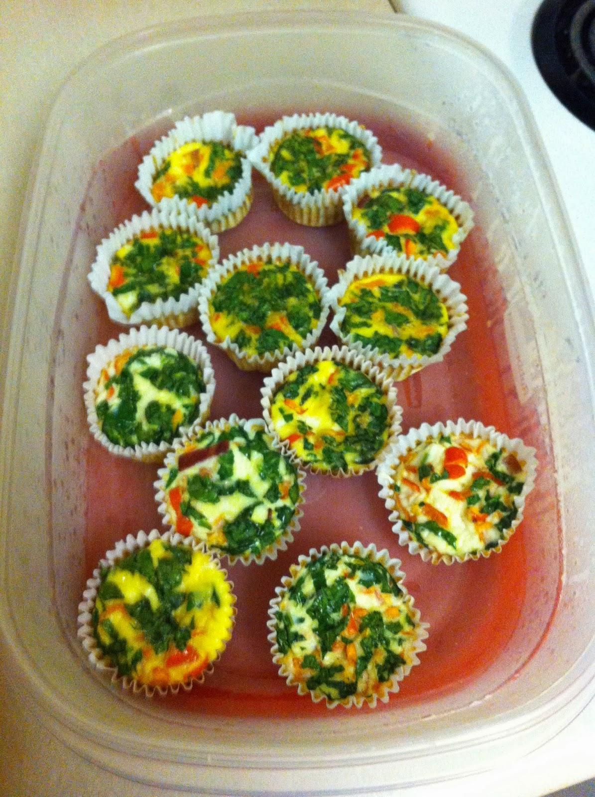 Mini Breakfast Omletes