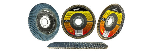 Forney curved flap discs
