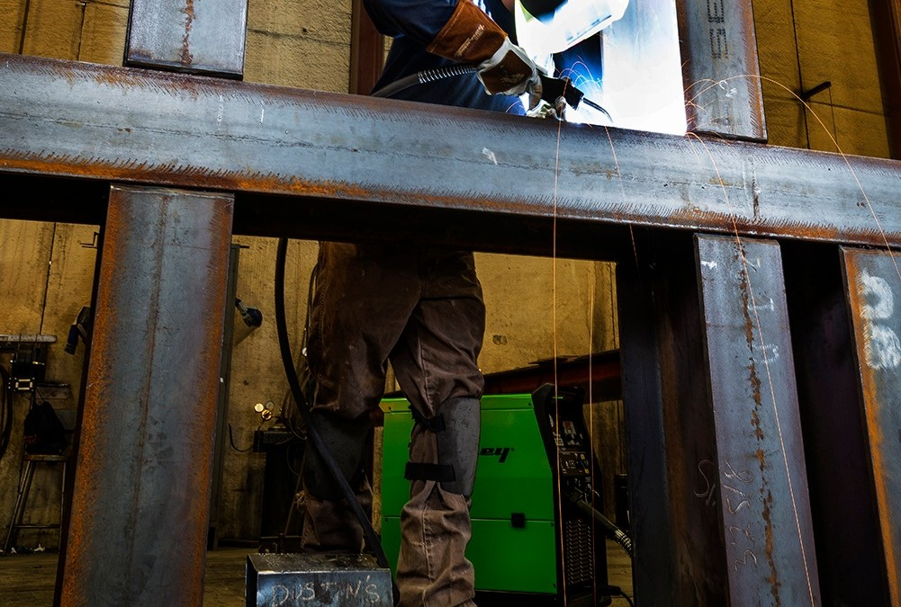 Welding with the Forney 242 Dual MIG