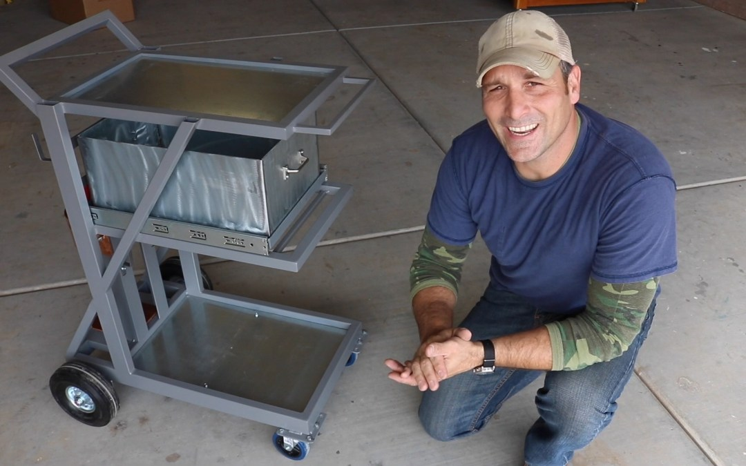 Beef Up Your Garage With This DIY Welding Cart